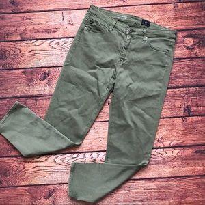 AG jeans mid rise prima crop Sz 28